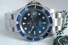 Alpha Submariner Blue Dial Blue Bezel Brand New 1 Year Warranty ! in Jewellery & Watches, Watches, Wristwatches Men's Watches, Watches For Men, Seiko Diver, Men Watch, Mechanical Watch, Wristwatches, 1 Year, Budget, Brand New