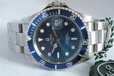Alpha Submariner Blue Dial Blue Bezel Brand New 1 Year Warranty !!!!! in Jewellery & Watches, Watches, Wristwatches | eBay