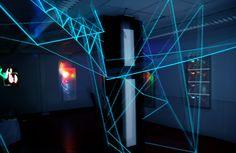 """Installation im """"Darkroom"""" von APNOA"""