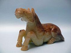 Fine dinastía Ming Jade Horse
