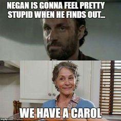 We have a Carol. #TWD                                                                                                                                                                                 More