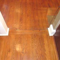 Hardwood Floors Borders Between Rooms Floor Runs The
