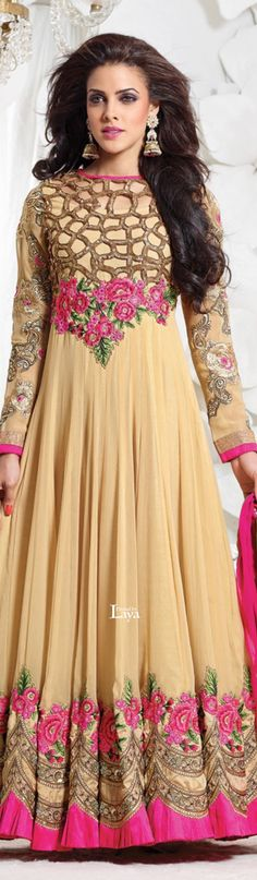 ♔LAYA♔ANARKALI CHURIDAR♔ Dress Indian Style, Indian Dresses, Indian Saris, Pakistani Outfits, Indian Outfits, Indian Clothes, Anarkali Churidar, Anarkali Suits, Salwar Kameez