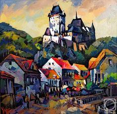 Painting by Sergey Yatnov (Russia) Barnett Newman, Alex Colville, Audrey Kawasaki, Andrew Wyeth, Arno, Akira, Bo Bartlett, Carl Larsson, Building Art
