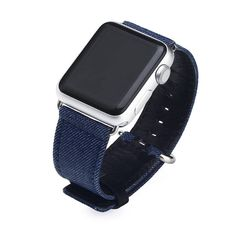 For all Apple Watch Models 2 and 3 in sizes. Fun style to match your clothing. Very comfortable to wear. Best Apple Watch, Apple Watch Bands 42mm, Apple Watch Series 3, All Band, Band Fun, Apple Watch Accessories, Apple Watch Models, Deep Blue, Light Blue