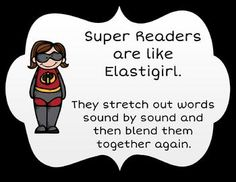 Superhero Reading Strategies $