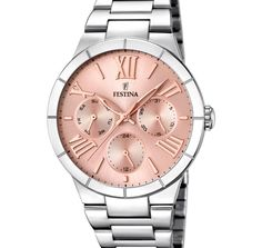 Reloj Mujer Festina Mademoiselle Esfera de color oro rosa Chic Time 788206c5ce35