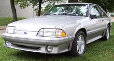 1993 Mustang GT - Last year of the Fox-chassis based 5.0's, 205 HP @ 4200 RPM, 275 lb-ft @ 3000 RPM