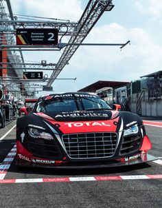 Insane! The #Audi R8 LMS Ultra Race Car versus the Infamous #Nurburgring! This is seriously cool! Hit the pic to watch the video #carporn