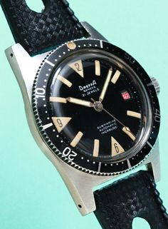 DREFFA SUBMARINE Vintage Diver Watch