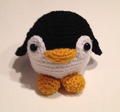 I did it!! My Amigurumi Penguin is adorable!