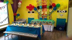 JUMP2IT Kelowna:  MINIONS themed birthday party