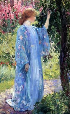Arti e bagagli — Guy Orlando Rose - The Blue Kimono (1910)