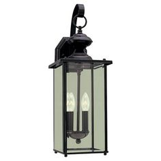Two-light Jamestowne Outdoor Wall Fixture - Overstock™ Shopping - Big Discounts on Seagull Lighting Wall Lighting