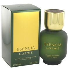 ESENCIA by Loewe 5.1 oz   150 ml EDT Cologne Spray for Men New in Box 3a6cd41be5
