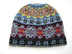 Ravelry: Electric Snow Fair Isle Hat pattern by Don Godec