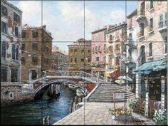Venezia by Sam Park - Kitchen Backsplash / Bathroom wall Tile Mural Tile Mural Store-Kitchen,http://www.amazon.com/dp/B00A5TGU28/ref=cm_sw_r_pi_dp_a77Tsb1TQ3994SFD