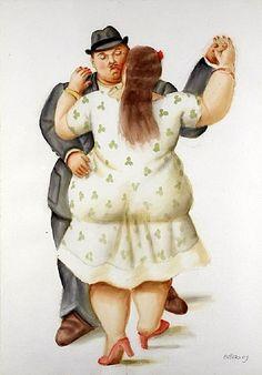 Fernando Botero - Danseurs