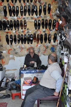 Shoemaker in Iran