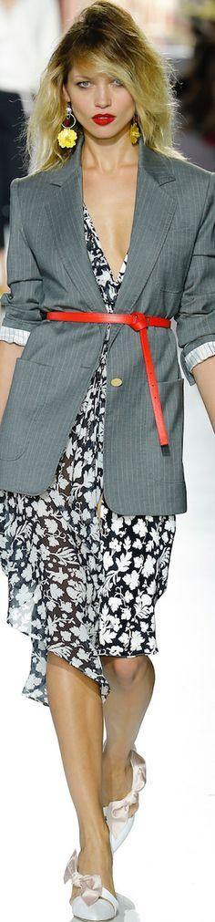 Topshop Unique Spring 2016 RTW women fashion outfit clothing style apparel @roressclothes closet ideas