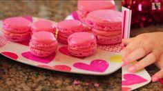 pink macarons! Valentine's day❤️❤️ http://youtu.be/lnDp151B4yo