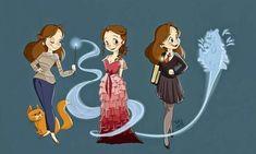Hermione, mas que fofura!