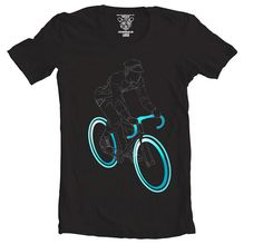 Hey, I found this really awesome Etsy listing at https://www.etsy.com/listing/187960790/tron-rider-mens-graphic-tee-bike-bicycle