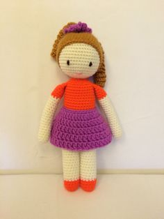 Amigurumi crochet doll made by Andréa Corrêa.