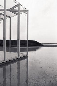 visionsandremains:  Langen Foundation, Neuss, Germany, by Tadao Ando (source: lankhorst.com)