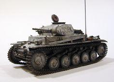 Panzer II Ausf.F, LSSAH, Dergatschi, Russia, February 1943