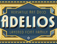 """Check out new work on my @Behance portfolio: """"Adelios Font (Free Weight)"""" http://be.net/gallery/66037237/Adelios-Font-(Free-Weight)"""
