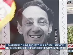 Video: The Harvey Milk Forever® stamp was unveiled at the Bakersfield Post Office™.