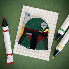 The Awesome Portraits Built with LEGO Bricks