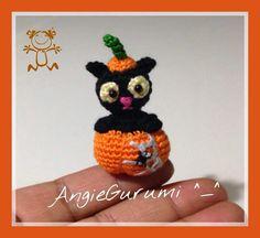 Amigurumi Kitten Halloween, Free (◕‿◕✿)