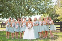 bridesmaids color