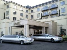 Silver Wedding Limousines Knightsbrook Hotel Meath