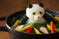 too cute to eat #daikonart