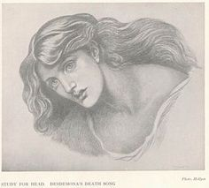 Desdemona's Death Song - D.G.Rossetti