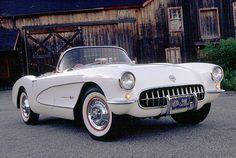 1957 Chevrolet Corvette Convertible Roadster, 1957 Corvette SS race car built for Zora Duntov  Father of the Corvette