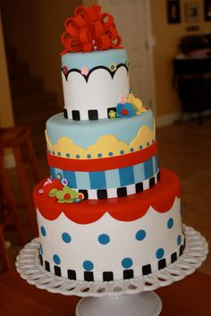 LOVE this cake- Kelsey, this reminds me of our childhood. :)