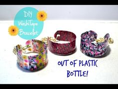 DIY Crafts: Jewelry Set Bracelets Earrings Pendant from Plastic Bottle Recycled Bottles Crafts - YouTube