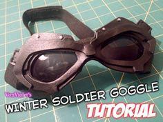 Winter Soldier Goggles Tutorial
