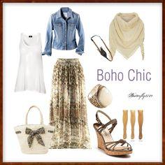 Boho Hijabi Highstreet Summer Chic style outfit