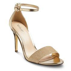 Women's Tevolio Callie Metallic Ankle Strap Heels