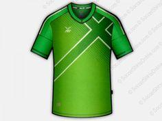 FBT England Flag Football Shirts   FBT12-290 Green/White