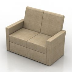 Download 3D Sofa