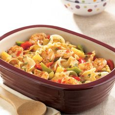 Sweet & Sour Shrimp with Noodles - The Pampered Chef®