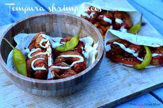 Tempura shrimp taco's! Recept van foodensomuchmore.nl