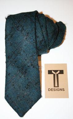 TyDesigns necktie, wool & mohair blend