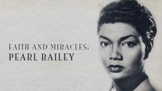 Not only was she a star on Broadway and in movies, but received a Tony award and the Screen Actors Guild honored her with a Lifetime Achievement Award for. Pearl Bailey, Tony Award, Lifetime Achievement Award, Women Of Faith, Christian Faith, Black History, Role Models, The Fosters, United Nations